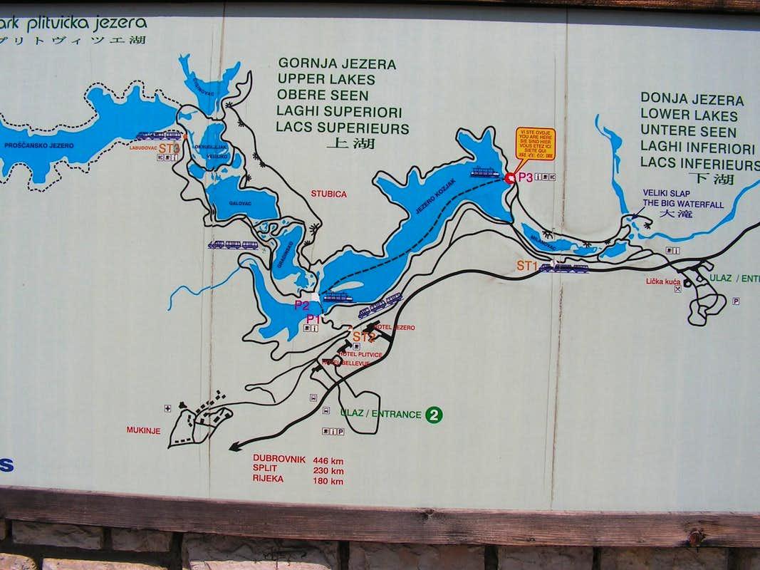 Plitvice Lakes  Photos Diagrams  Topos  SummitPost