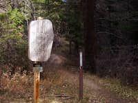 Latir Wilderness boundary at...