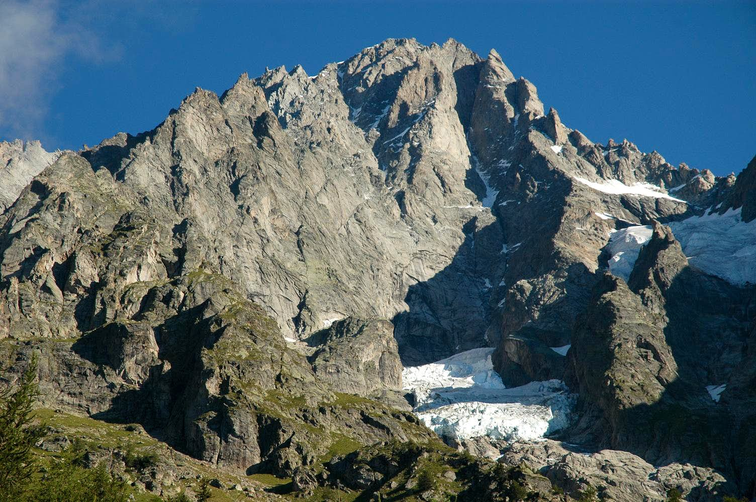 Grandes Jorasses south-east face