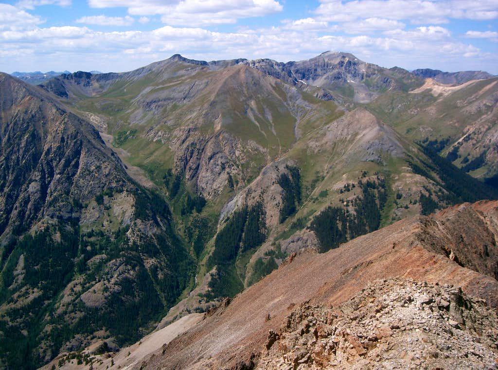 13795 & Handies Peak