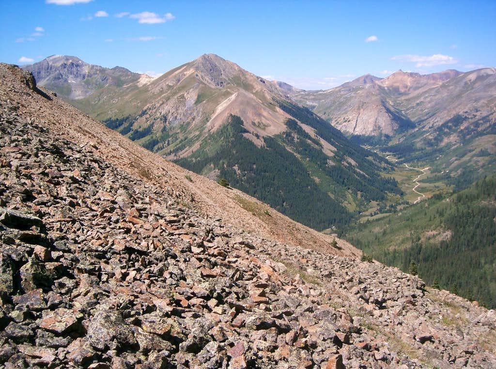 Handies Peak & Whitecross Mountain