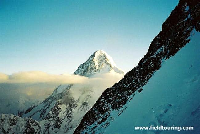 A great view over to K2 from...