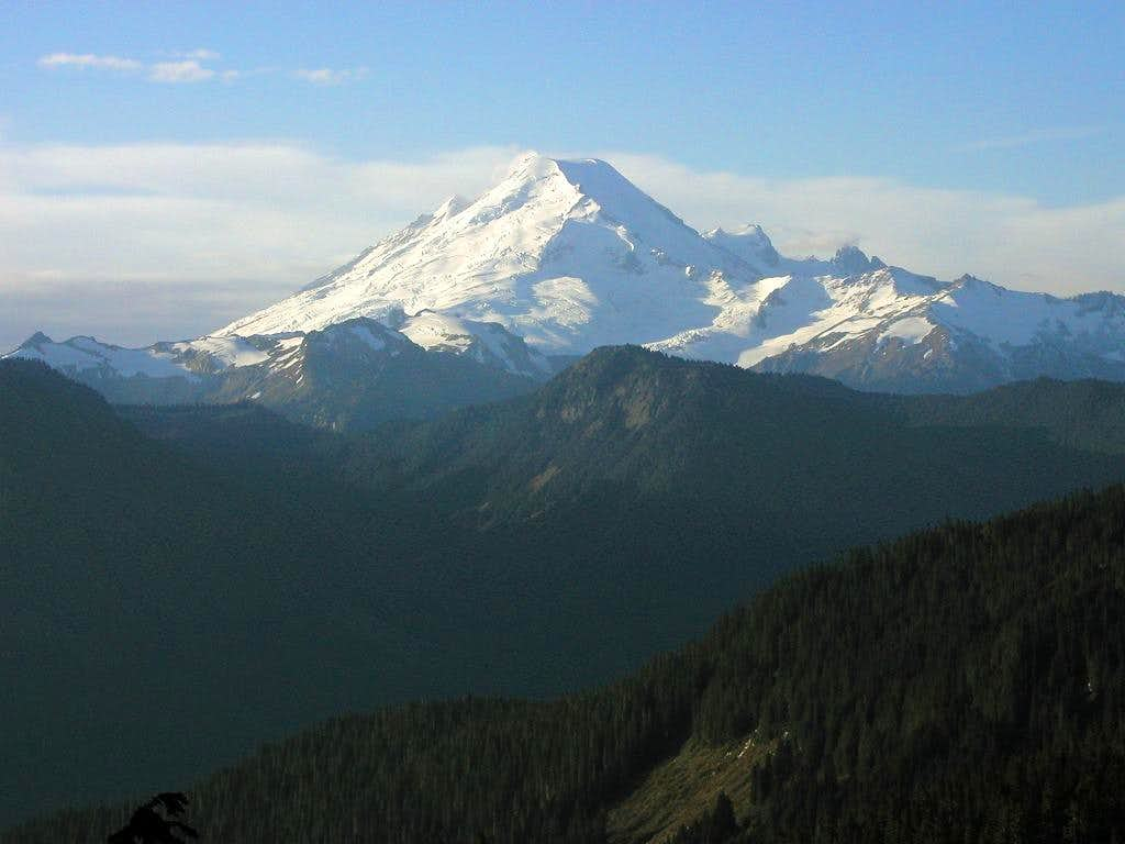 Mt. Baker from the north on...