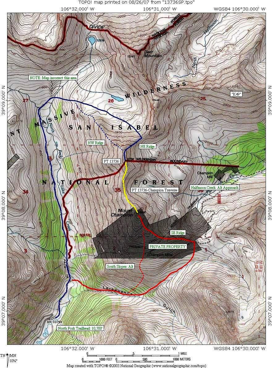 PT 13736/Champion - Map
