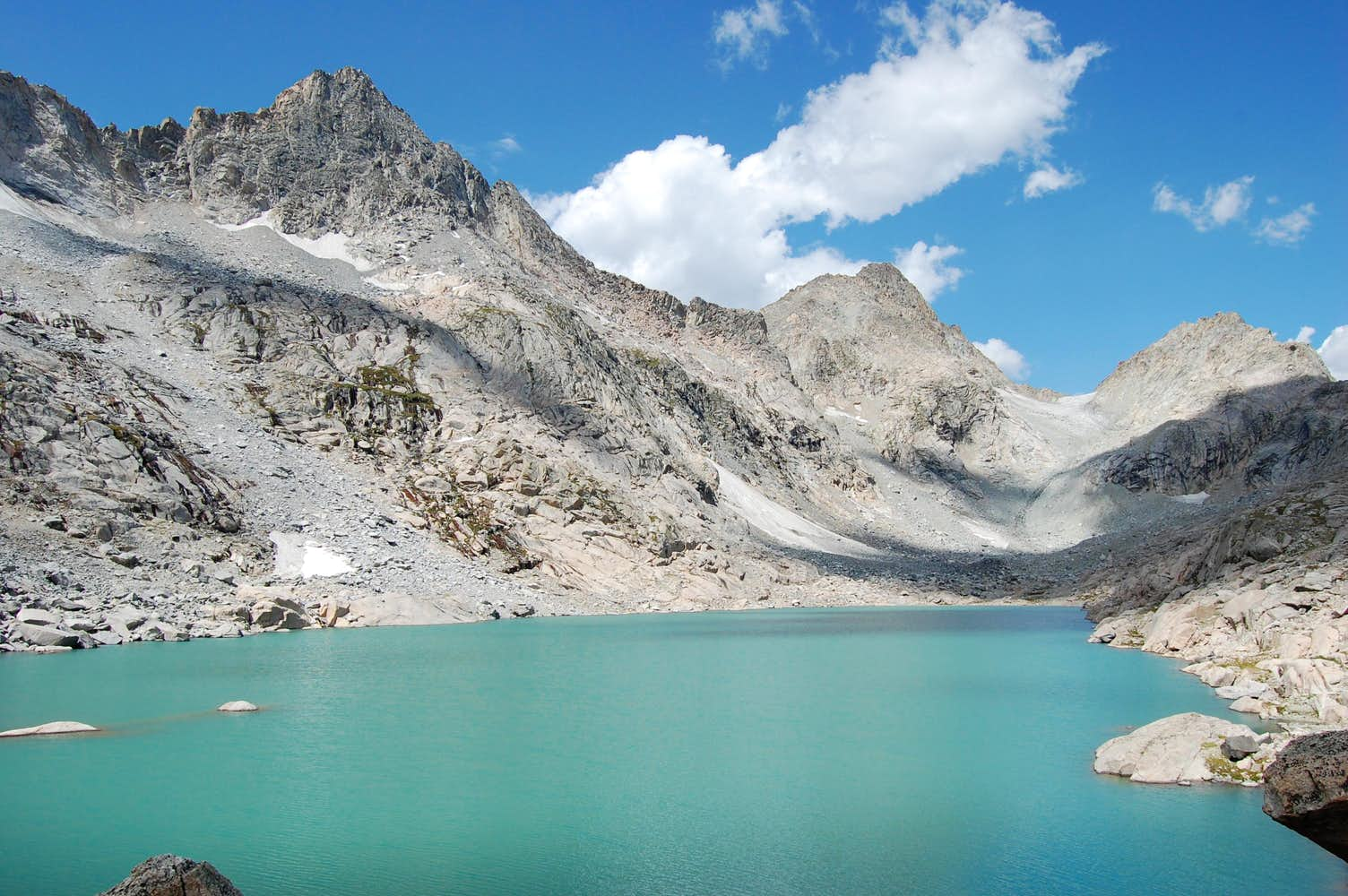 Summer Ice Lake, Wyoming : Photos, Diagrams & Topos : SummitPost