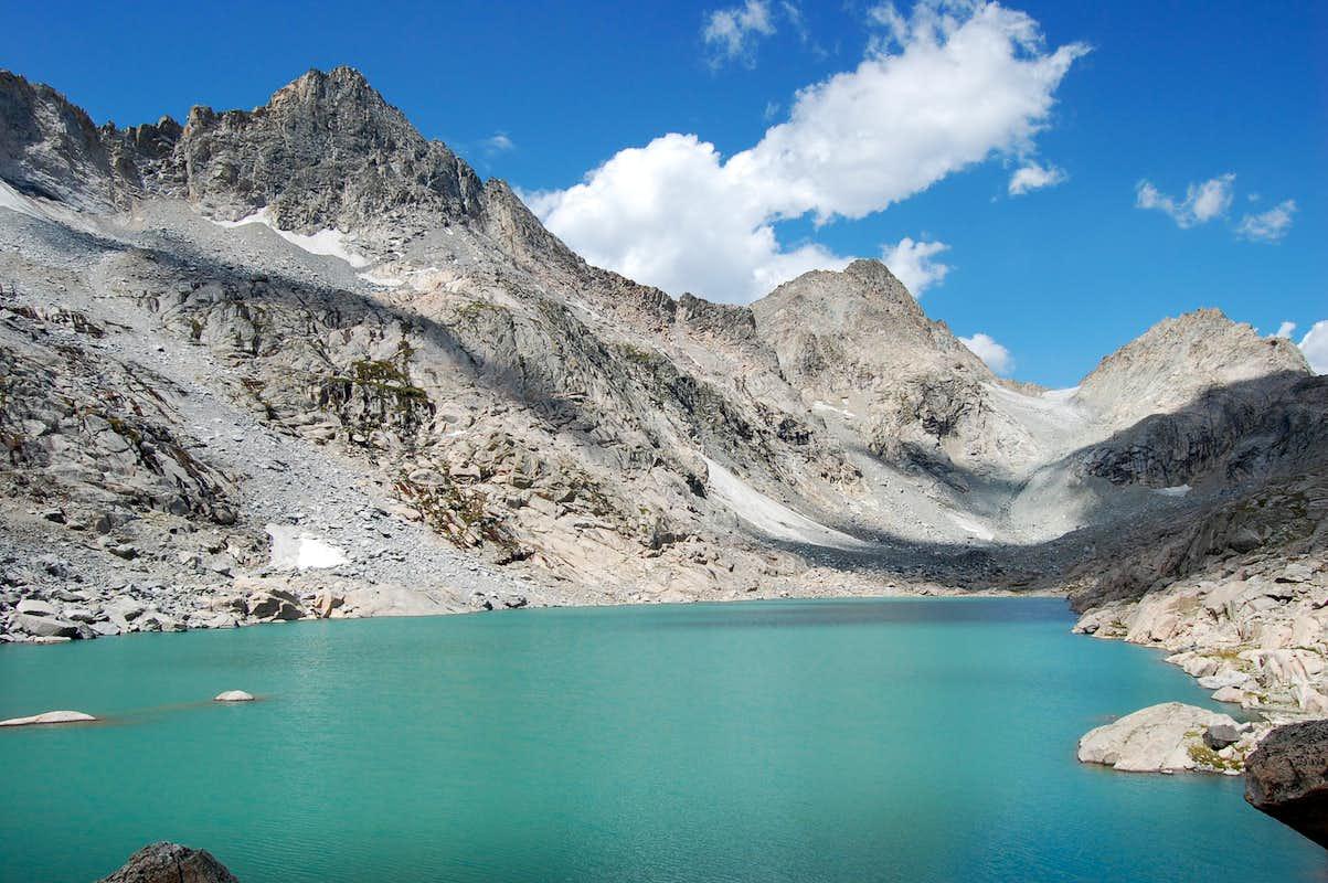 Summer Ice Lake Wyoming Photos Diagrams Amp Topos