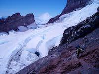 Crevasses, Mt. Rainier