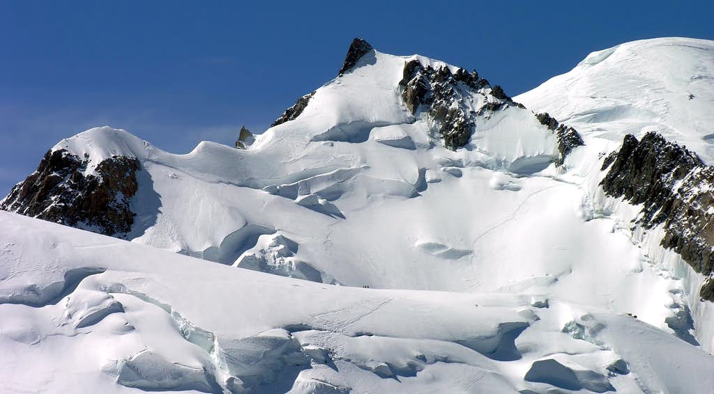 North side of Mont Maudit (4468m)
