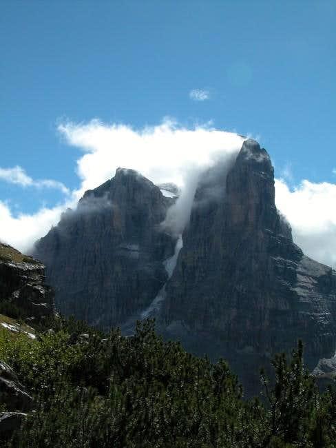 Crozzon di Brenta (3135m) and...