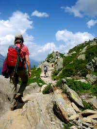2007, alpine hiking, Chamonix-Mont-Blanc