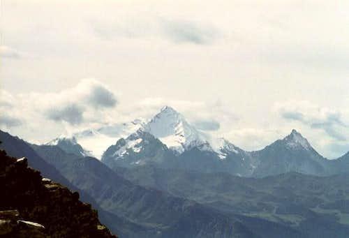 La Grivola (3969m) seen from...