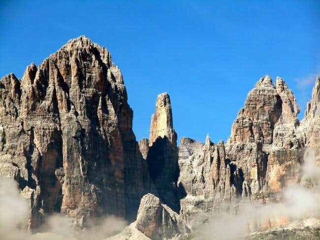 Cima Brenta Alta (2960m),...