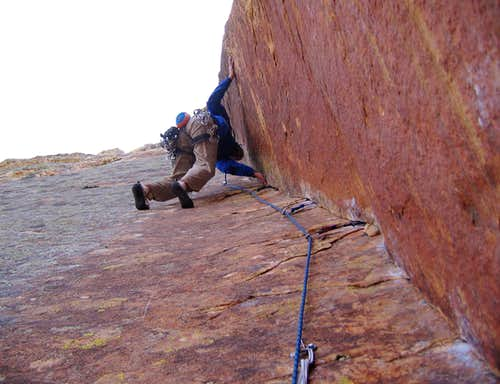 Rainbow Wall Original Route