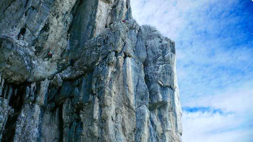 Fantasy ledges of the Haroldweg