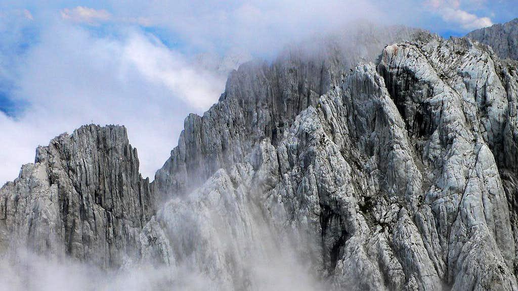 Mystical fins of rock...