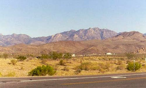 The Hualapai Mountains from...