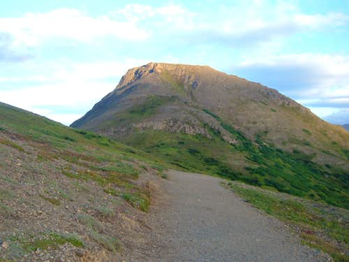 Flattop from the trail