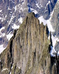 The north east slope of Aiguille de la Brenva (3278m)