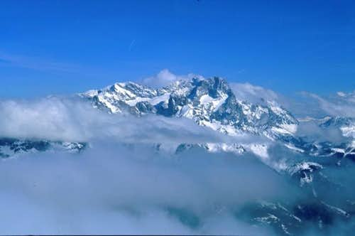 Dachstein seen from the...