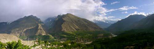 Hunza Valley Panorama