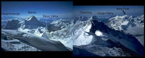 Mera Peak seen from the...