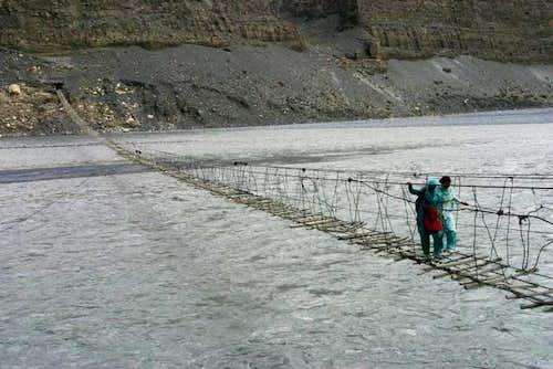 Bridge in Passu Village