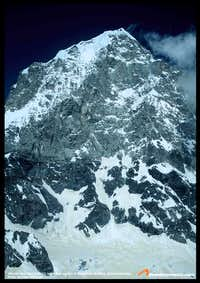 Mt. Neelkantha West Face, taken from the summit of Parvati East