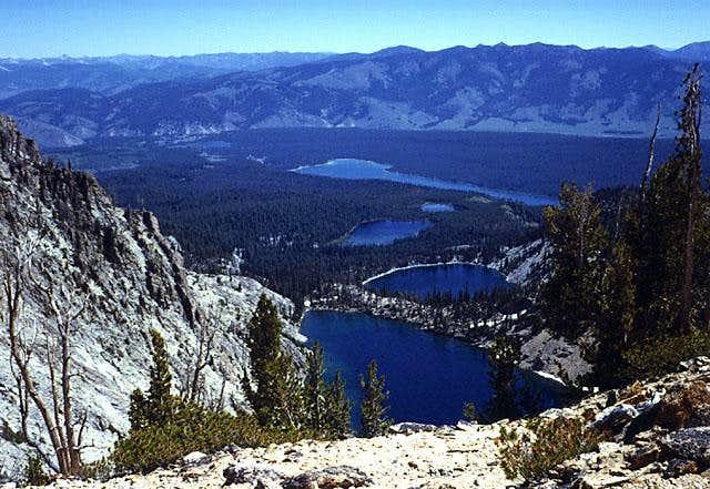 Bench Lakes & Redfish Lake.