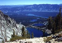 Bench Lakes & Redfish Lake.