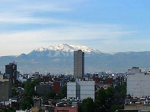 This is Ajusco as seen from...