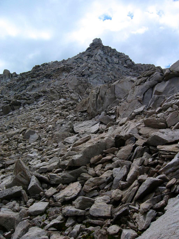 East Ridge of Center Peak