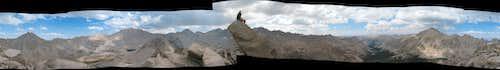 360 Pano from Center Peak