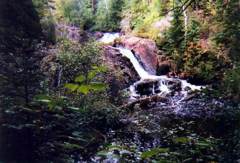 Schweitzer Falls