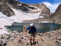 Frigid Lake and Moomaw Glacier
