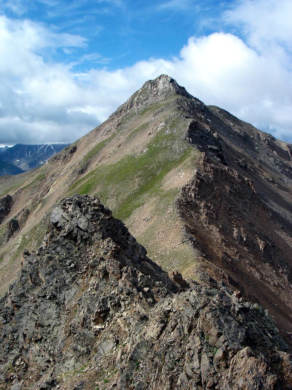 North ridge of Casco Peak