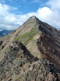 North ridge of Casco Peak
