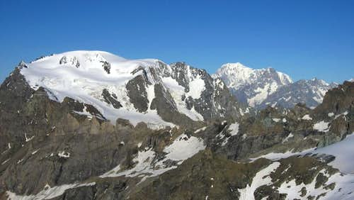 Mont Velan and Monte Bianco