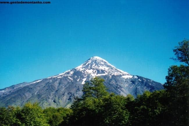 Summit of Lanin from Mamuil...