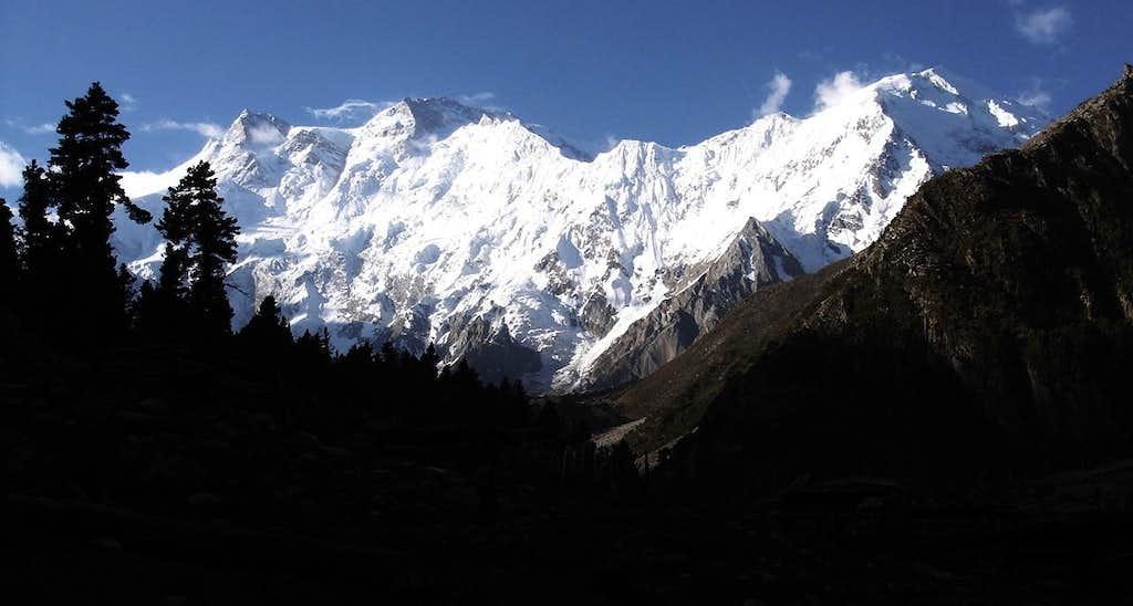 Diamir Massif From Near Jilipur Pass