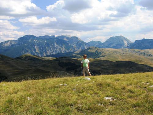 View to Durmitor