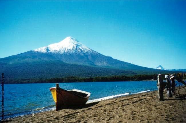 The Osorno Volcano from Lake...