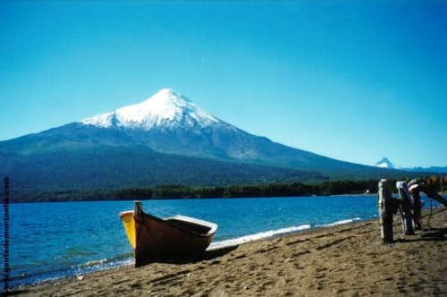 The Osorno Volcano from Lake...