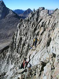 back on the ridge