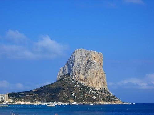 Peñon de Ifach (Classic Rock Climb, Spain)