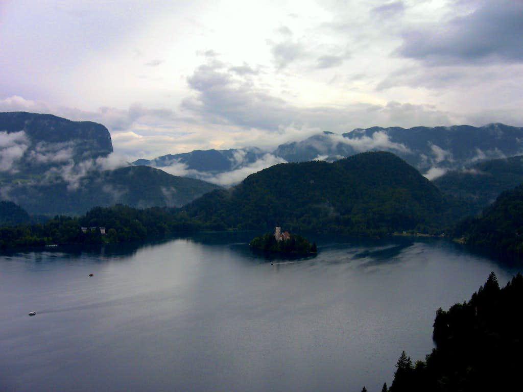 Lake Bled & Julian alps