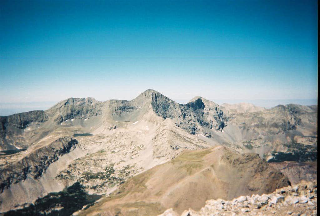 Little Bear Peak, Blanca Peak & Ellingwood Point