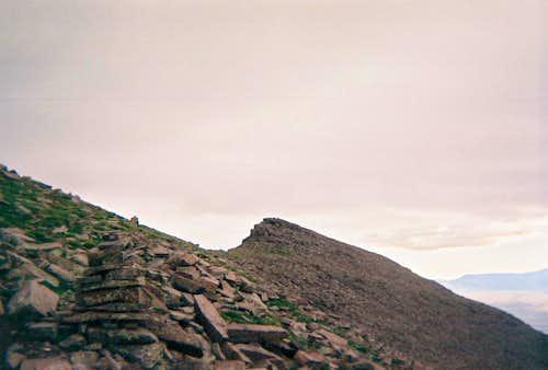 Humboldt Peak- Plan B on this rainy day.
