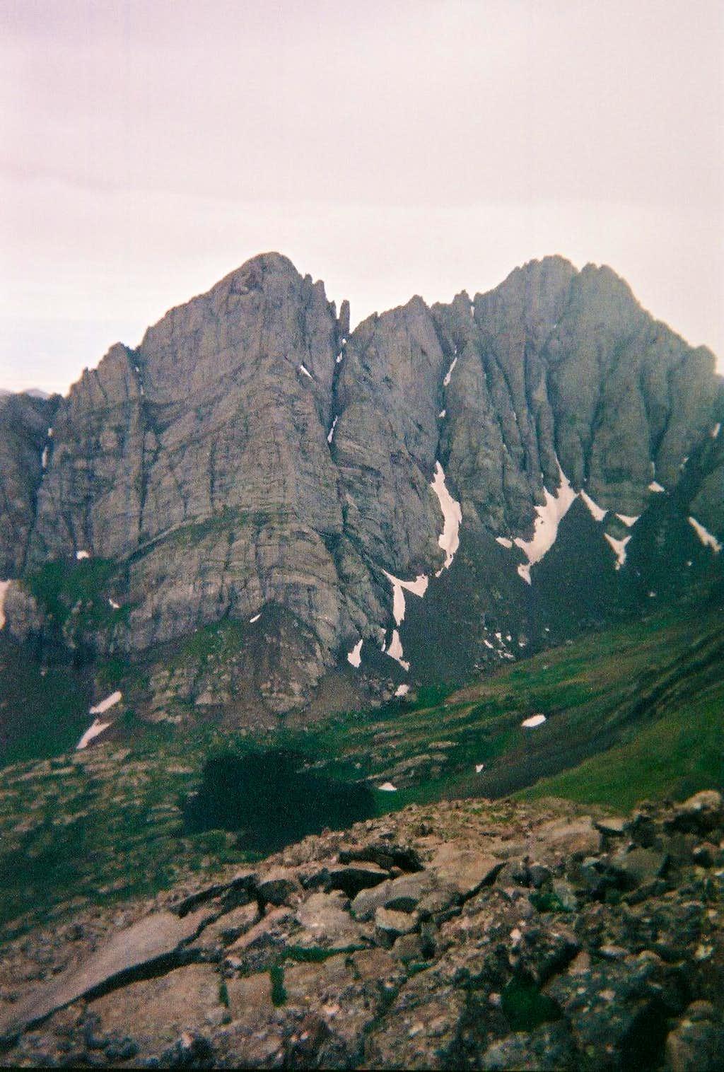 Crestone Needle & Crestone Peak