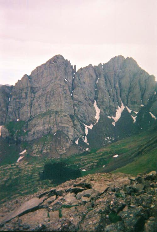 Crestone Peak-back to the Sangre de Cristos