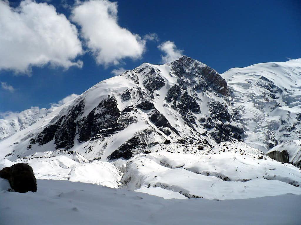 North East ridge